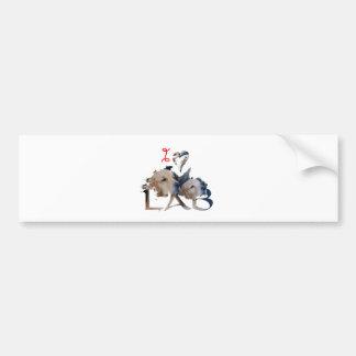 I love Lab Bumper Sticker