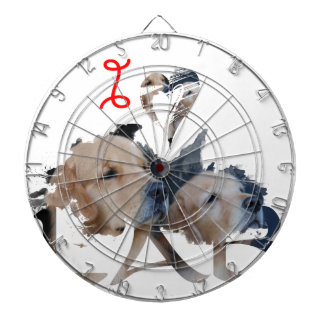 I love Lab Dartboard