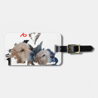 I love Lab Luggage Tag