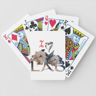 I love Lab Poker Deck