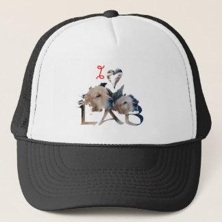 I love Lab Trucker Hat