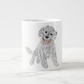 I Love Labradoodles Large Coffee Mug
