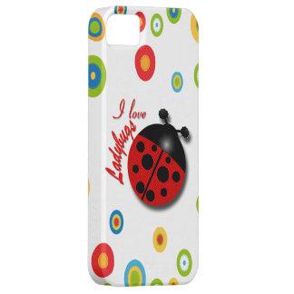 I Love Ladybugs iPhone 5 Cover