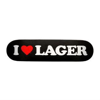 I LOVE LAGER CUSTOM SKATEBOARD