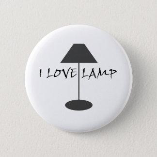 I Love Lamp 2 Inch Round Button
