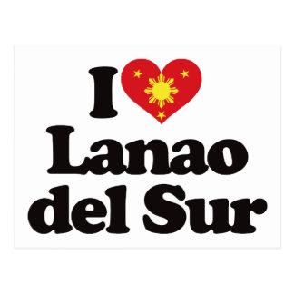 I Love Lanao del Sur Post Card