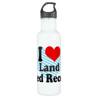 I love Land Speed Records 710 Ml Water Bottle