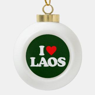 I LOVE LAOS ORNAMENTS
