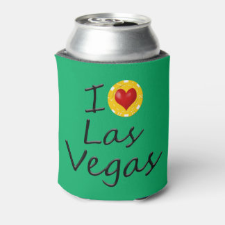 I Love Las Vegas Can Cooler