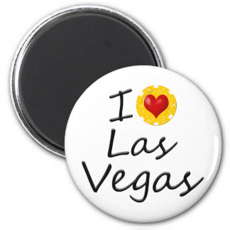 I Love Las Vegas Magnet