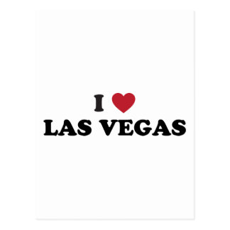 I Love Las Vegas Nevada Postcard