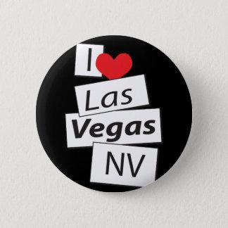 I Love Las Vegas NV 2 Inch Round Button