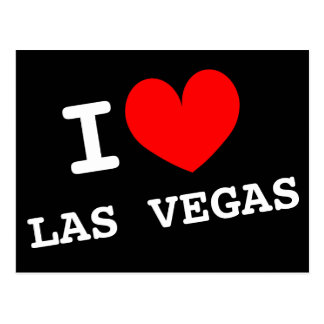 I love Las Vegas postcard | Customizable address