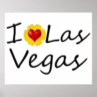 I Love Las Vegas Poster