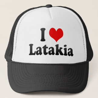 I Love Latakia, Syrian Arab Republic Trucker Hat