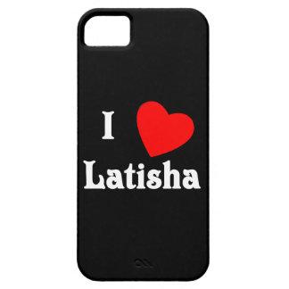 I Love Latisha iPhone 5 Cover