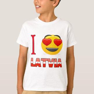 I love LATVIA. T-Shirt
