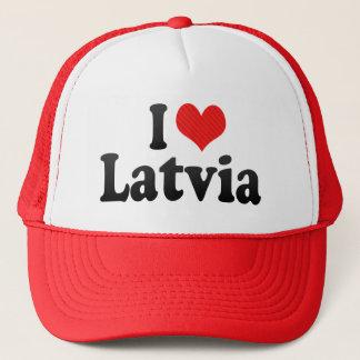 I Love Latvia Trucker Hat