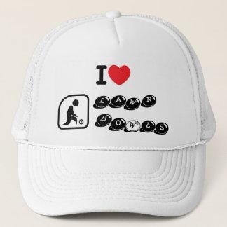 I love Lawn Bowls Trucker Hat
