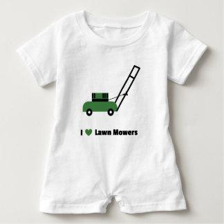 I love Lawn Mowers Baby Romper