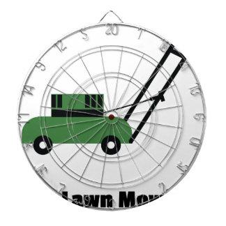 I love Lawn Mowers Dartboard