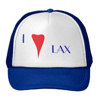 I Love Lax Trucker Hat