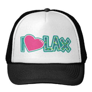 I Love LAX Mesh Hats