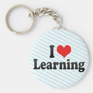 I Love Learning Keychains