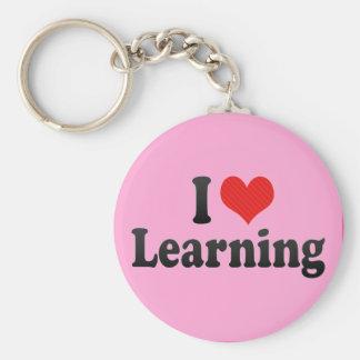 I Love Learning Keychain