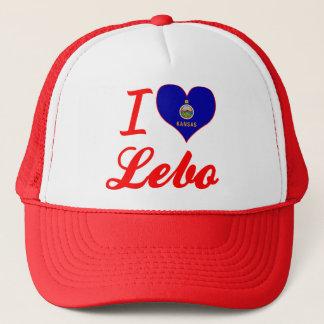 I Love Lebo, Kansas Trucker Hat