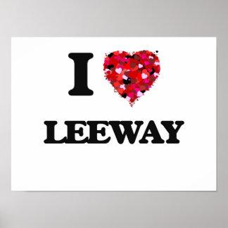 I Love Leeway Poster