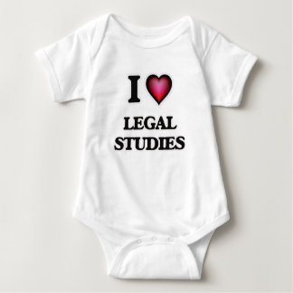 I Love Legal Studies Baby Bodysuit