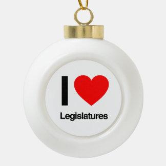 i love legislatures ornaments