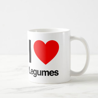i love legumes coffee mug