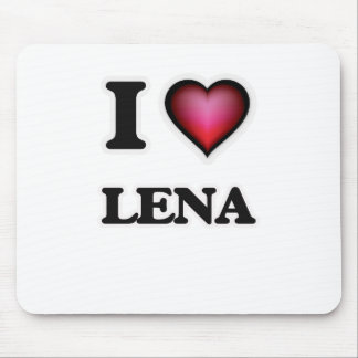 I Love Lena Mouse Pad