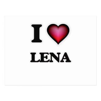 I Love Lena Postcard
