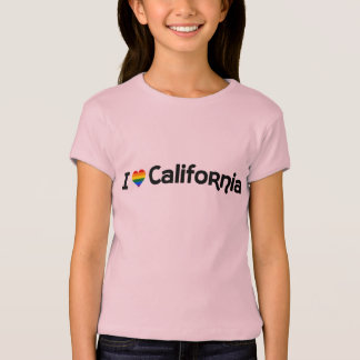 I love LGBT California state T-Shirt