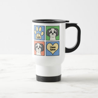 I Love Lhasa Apsos Travel Mug