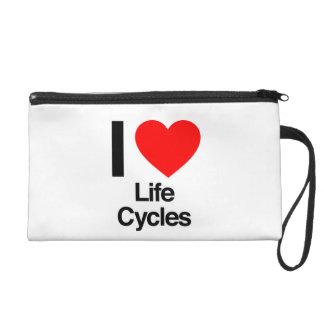 i love life cycles. wristlet