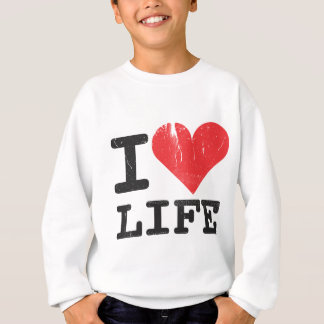 I Love Life Kids Sweatshirt