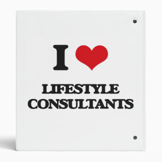 I love Lifestyle Consultants 3 Ring Binders