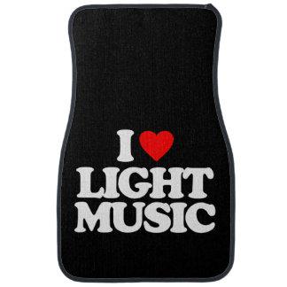 I LOVE LIGHT MUSIC CAR LINERS
