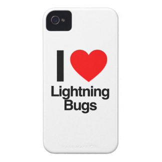 i love lightning bugs Case-Mate iPhone 4 case