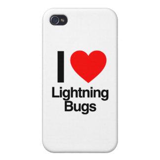 i love lightning bugs iPhone 4 case