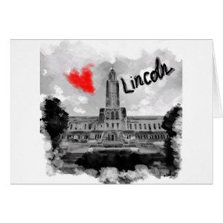 I love Lincoln Card