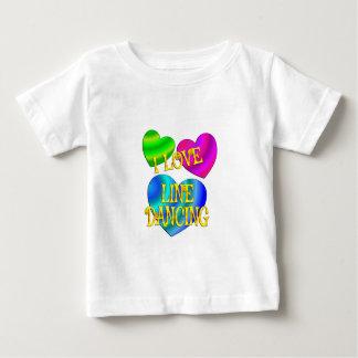 I Love Line Dancing Baby T-Shirt