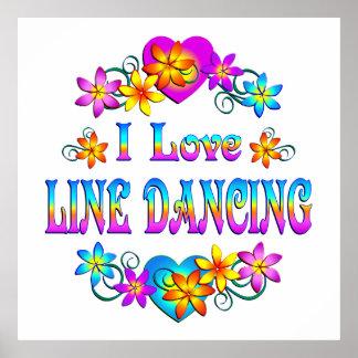 I Love Line Dancing Print