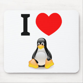 I love Linux Mouse Pad