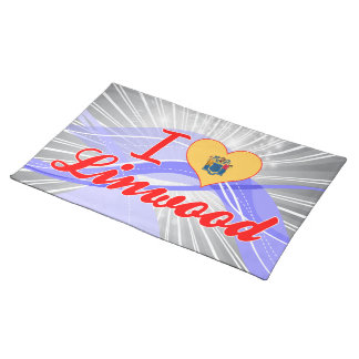 I Love Linwood, New Jersey Placemat