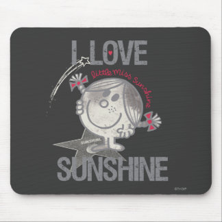 I Love Little Miss Sunshine Mouse Pad